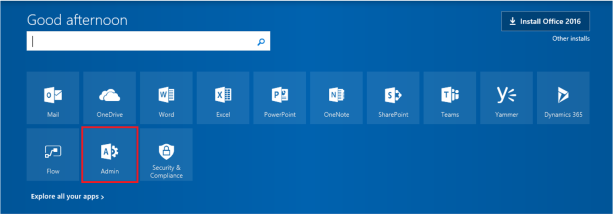 1-Office365Console